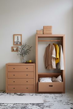 store your clothes in carton furniture from Berlin
