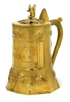 GRATSCHEW - A lidded tankard from St Petersburg,
