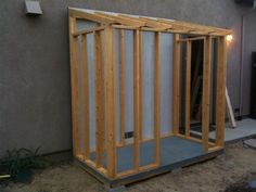 Image result for 4x8 lean to shed plans free