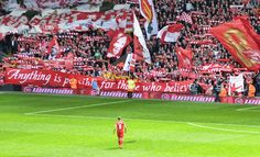 You'll Never Walk Alone, Stevie. Good luck.