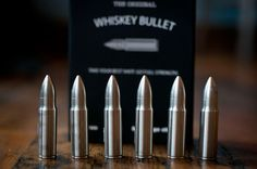 Whiskey Bullets by SipDark.com