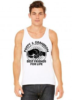 Poppy And Grandson Best Friends For Life Tank Top
