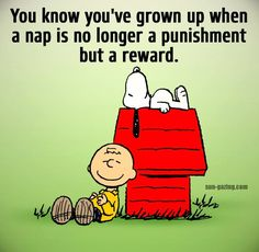 Yep. Naps are definitely a reward!