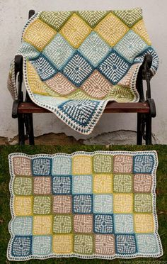 Source … Pattern … Pattern … Beautiful Colors - Granny Square More …