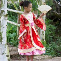 Smukkeste fastelavn udklædning. Orientalsk prinsesse.