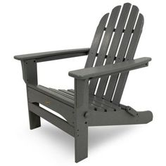 Cape Cod Stepping Stone Folding Patio Adirondack Chair
