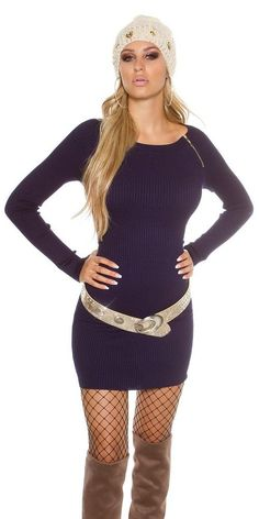 477e832ac Comprar Vestido de punto moda invierno fashion online Vestidos de punto  lareinadeparis