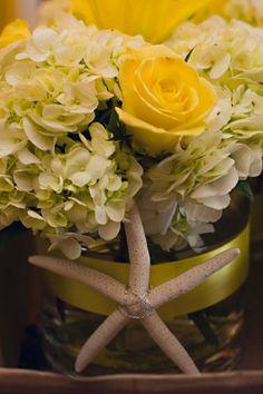 The Bride's Bouquet - Flowers - Palm Harbor, FL - WeddingWire Yellow Centerpieces, Flower Centerpieces, Wedding Centerpieces, Wedding Table, Yellow Wedding Flowers, Bride Bouquets, Just Giving, Wedding Planner, Wedding Stuff