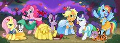 as disney princesses