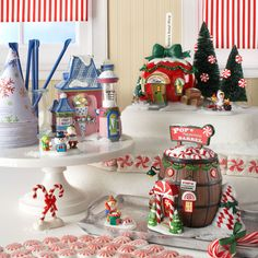 Cookies, Candies, Icy Treats. Christmas to you is anything Sweet! For more information on North Pole Villages visit http://www.department56.com or shop 24/7 http://shop.department56.com