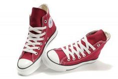 7c2b7b1509d342 All star ox low maroon canvas Converse Chuck Taylor All Star High Top  Claret Red Canvas Shoes -   Best All Star Converse Chuck Taylor