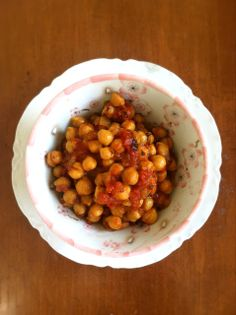Crockpot Channa Masala (Curried Chickpea Stew) + How to Crockpot Cook Chickpeas : Rooted Vegan