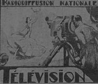 Fernsehsender Paris (Television Paris) Logo from 1939 - 1940