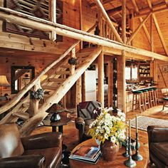 Love log cabins!!
