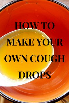 Those nasty sore throats just won't go away sometimes. Fortunately you can make your own cough drops right at home! Natural Health Remedies, Herbal Remedies, Home Remedies, Drops Recipe, Green Living Tips, Peppermint Tea, Ginger Tea, Sleepless Nights, Sore Throat