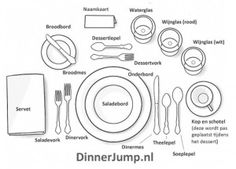 Very helpful guide to formal dining. | @home | Pinterest | Table manners Manners and Etiquette  sc 1 st  Pinterest & Very helpful guide to formal dining. | @home | Pinterest | Table ...