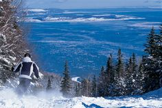 Le Massif, Québec-Place i've been (skiied) Charlevoix Quebec, Baie St Paul, Go Skiing, Nice Place, Sweet Memories, Canada Travel, Places To Go, Coast, Sport