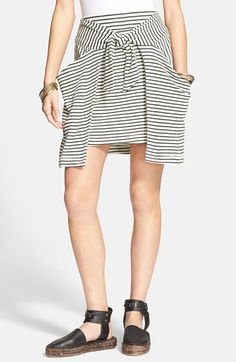 Free People 'All Tied Up' Layered Skirt available at #Nordstrom