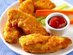 Adult approved Chicken Tenders Recipe, Comfort Food that you still crave!  The Pioneer Woman's Recipe.