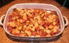 Roasted Kielbasa & Potatoes..I'm making this with turkey kielbasa tonight ;0)