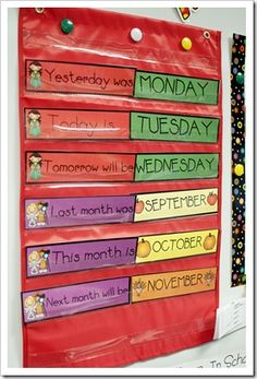 Calendar helpers Today is ... / Last month was ...