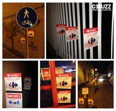 Carrefour Market // Stopper // Apertura Punti Vendita Nord Italia #guerrillamarketing #stopper