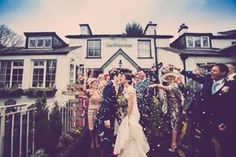 Steph and Paul's Winter wedding at The Wild Boar Inn