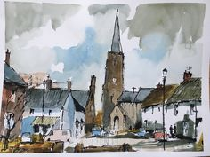 Watercolours from November workshop with John Hoar ...