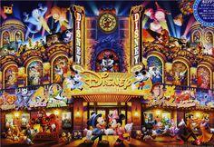 "Jigsaw Puzzles 1000 Pieces (Hologram) ""Dream Theater"" / Disney / Tenyo /1000-410"