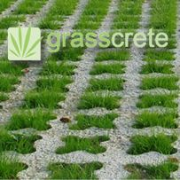 Paving - Grass Concrete Limited - Cellular grassed paving in concrete or plastic
