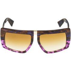 Miu Miu Sunglasses ($310) found on Polyvore