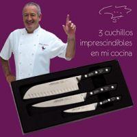 Set de 3 cuchillos Arcos de K. Arguiñano