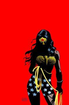 Eduardo Risso Wonder Woman from The Dark Knight III