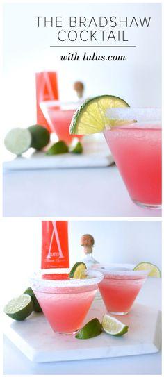 The Bradshaw Cocktail Recipe #diy #beverages #cocktails