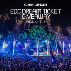 Enter this competition to win a free ticket to EDC 2016!