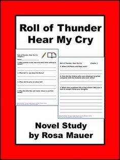 cry essay hear question roll thunder Roll of thunder, hear my cry essays: over 180,000 roll of thunder, hear my cry essays, roll of thunder, hear my cry term papers, roll of thunder, hear my cry research.