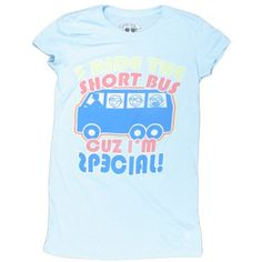 special short bus david and goliath t-shirt