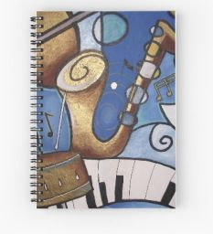 Music notebook  #StockingFillers #Christmas2015