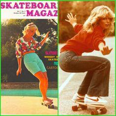 Skateboarding 1970's Style