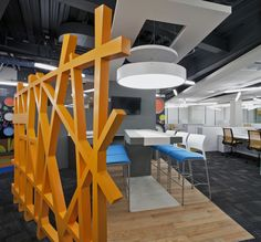 proj 1 BASF corporate offices by SPACE, Mexico City office design Corporate Office Design, Office Space Design, Corporate Interiors, Workplace Design, Office Interior Design, Office Interiors, Corporate Offices, Bureau Design, Commercial Design