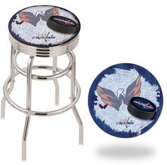 [[start tab]] Description The Winnipeg Jets Retro Chrome Ribbed Ring Bar Stool has a cushion with a tough double-ring base. It also has a chrome finish and a fashionable ribbed chrome Tampa Bay Lighting, Florida Panthers, Minnesota Wild, New York Islanders, Washington Capitals, Philadelphia Flyers, Toronto Maple Leafs, New York Rangers, Pittsburgh Penguins