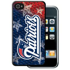 Iphone 4/4S Hard Cover Case - New England Patriots