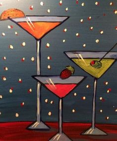 Paint Nite - a fun way to bring the creative side out for girls night out