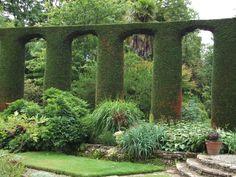 Strangford Lough, N. Ireland- Mount Stewart House and Gardens, Spanish Garden View 1