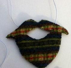 Printed wool sweater beard on Etsy, $5.00