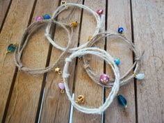 simple chic summer bracelets by stellas art