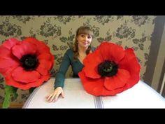АНЕМОНА из ИЗОЛОНА и EVA своими руками. Бесплатный мастер-класс.АННА ЦВЕТКОВА - YouTube