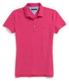 689ad0ec50 camisa feminina gola polo hering rosa