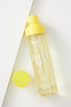 SPF 50 Glow Oil by in Yellow Size: All, Bath & Body at Anthropologie Beauty Products You Need, Skin Products, Makeup Products, Setting Powder, Anti Aging Skin Care, Glowing Skin, Sunscreen, Lip Balm, Shea Butter