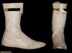 courreges go-go boots, paris, c. 1965
